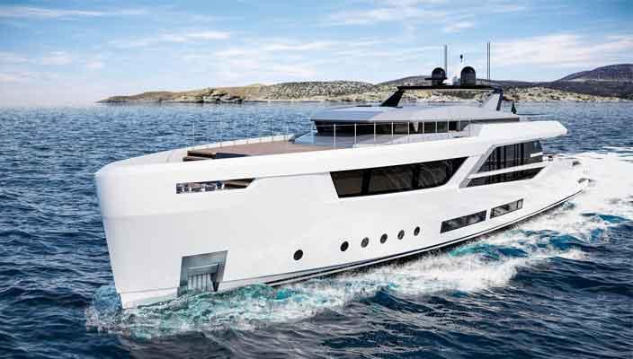 Baglietto и Hot Lab показали новую яхту V-Line 38 | фото