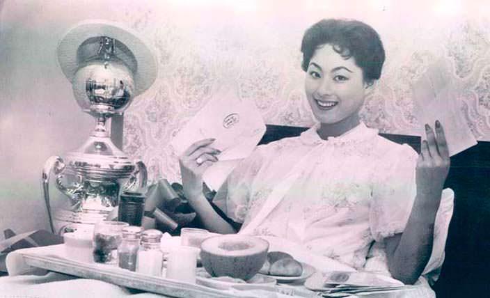 Акико Кодзима первая азиатка Мисс Вселенная