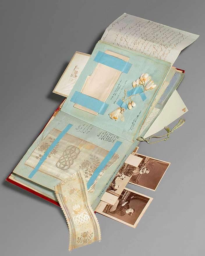 Альбом детства королевы Виктории, собранный гувернанткой