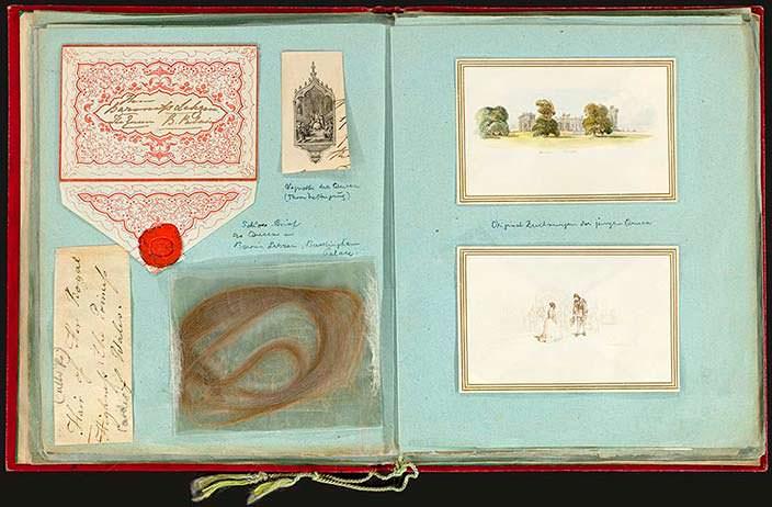 Альбом королевы Виктории, собранный Луизой Лехен