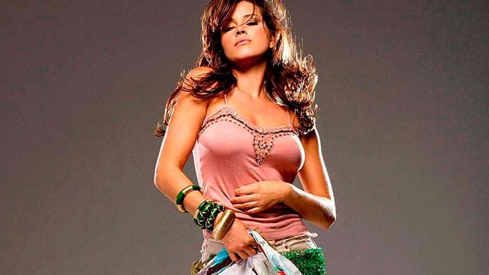 Алисия Мачадо - венесуэльская модель