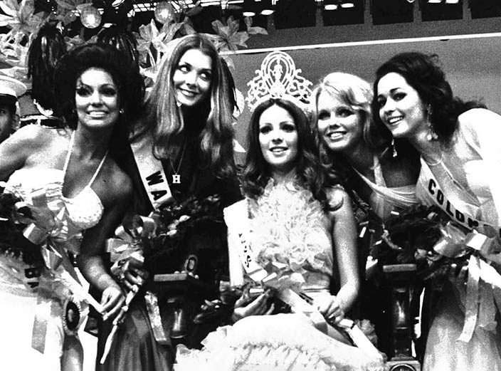 ТОП-5 участниц «Мисс Вселенная 1974»