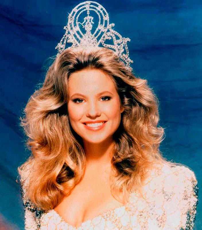 Ангела Виссер - Мисс Вселенная 1989