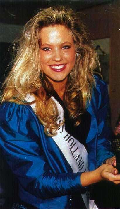 Ангела Виссер победительница конкурса «Мисс Вселенная 1989»
