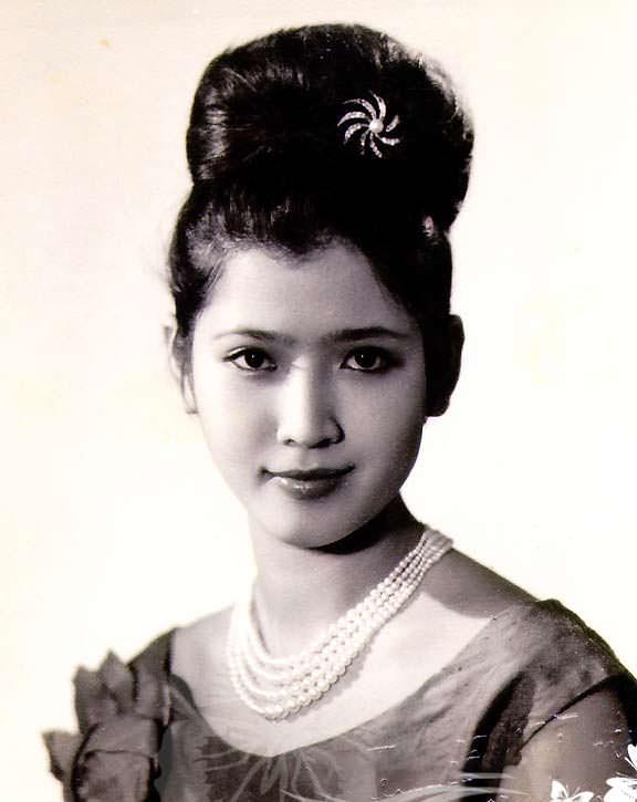 Aпасра Хонгсакула - Мисс Таиланд 1964