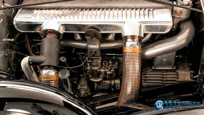 Двигатель 7,7-литра V8 в Mercedes-Benz 770K 1939 года