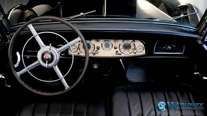 Салон Mercedes-Benz 770K Grosser Offener Turenwagen