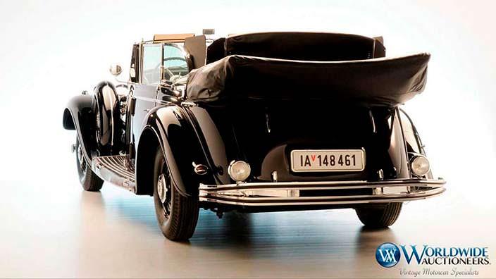 Парадный автомобиль Гитлера Mercedes-Benz 770K