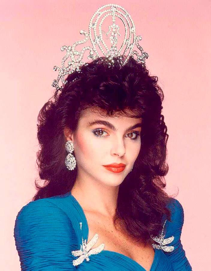 Барбара Паласиос Tейде - Мисс Вселенная 1986