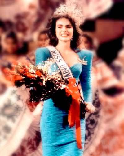 Барбара Паласиос Tейде - 35-я Мисс Вселенная