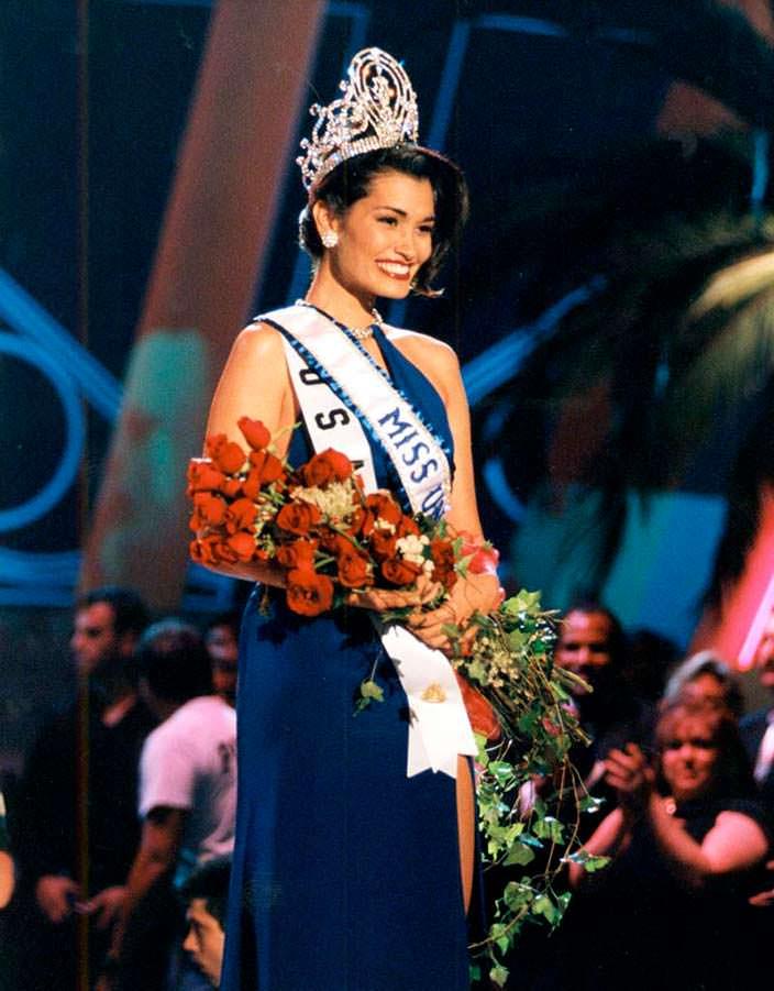 Брук Махеалани Ли - Мисс Вселенная 1997