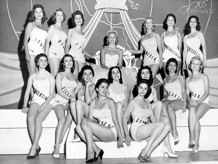 ТОП-15 «Мисс Вселенная 1956»