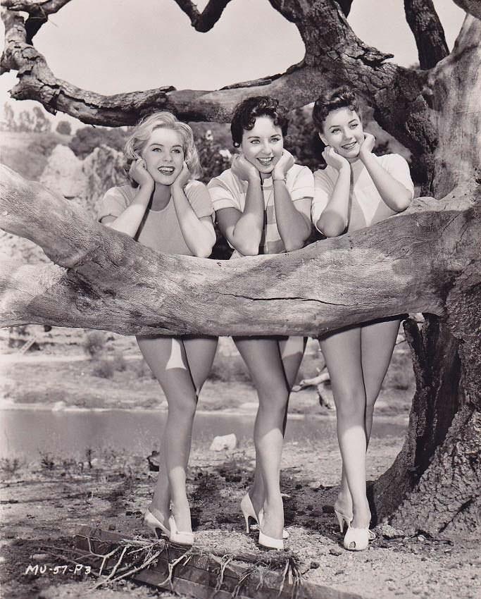 ТОП-3 «Мисс Вселенная 1956»: Ингрид Гуд, Кэрол Моррис и Марина Оршель