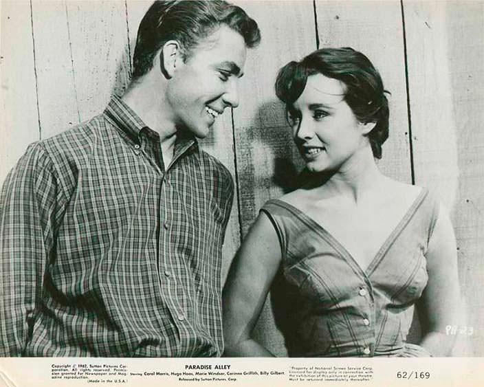 Фильм «Райская аллея» 1978 года. Дон Салливан и Кэрол Моррис