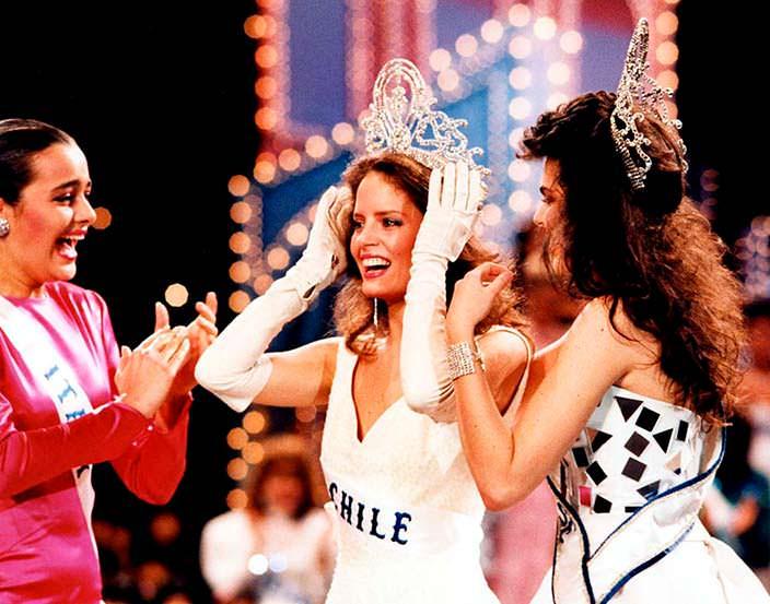 Коронация «Мисс Вселенная 1987»