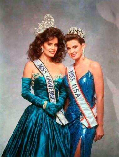 Мисс Вселенная и Мисс США 1987 года