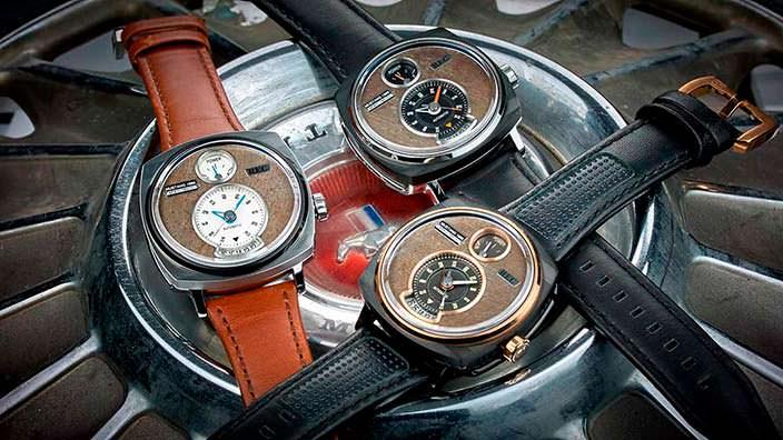 Наручные часы REC Watches из Ford Mustang