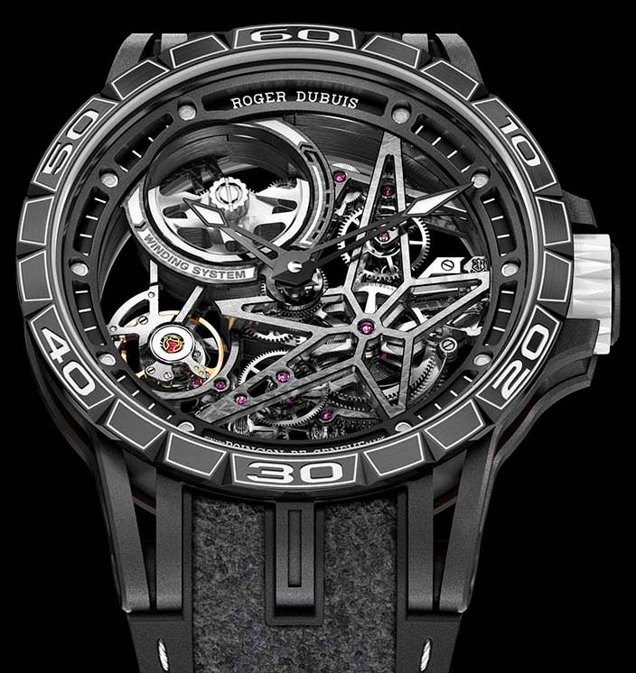 Часы Roger Dubuis Excalibur Spider Pirelli: цена $69 500
