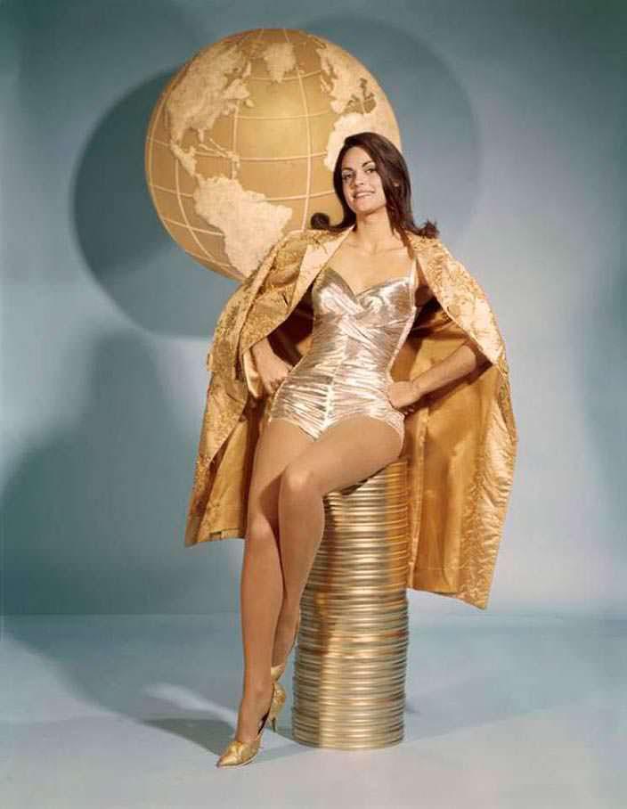 Коринна Тсопей победительница «Мисс Вселенная 1964»
