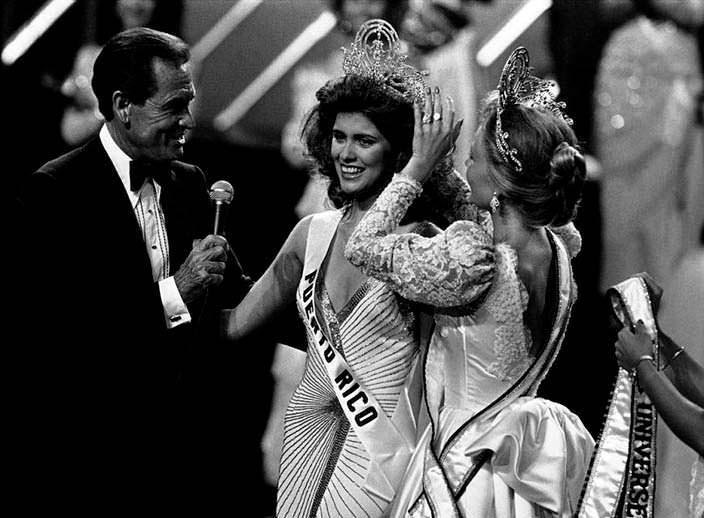 Коронация Мисс Вселенная 1984