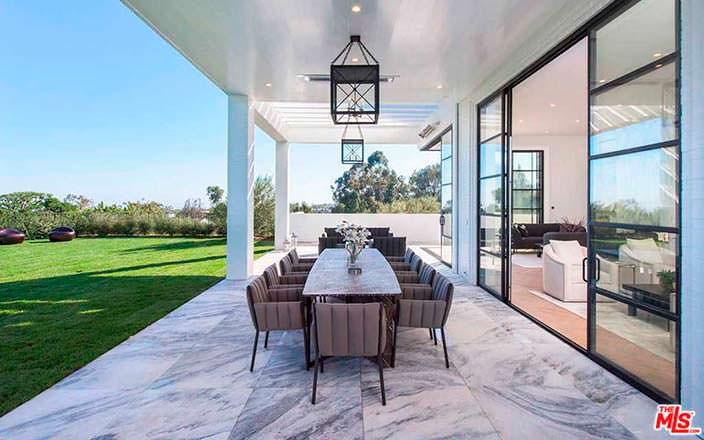 Мрамор в интерьере современного дома