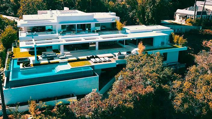 Дом Майкла Бэя в Бель-Эйр за $41 млн