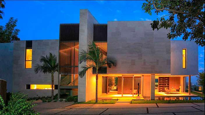 Современный дом в Бель-Эйр, Лос-Анджелес