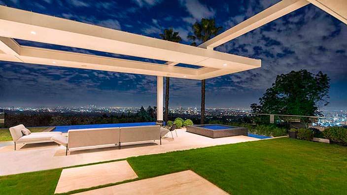 Вилла с видом на Лос-Анджелес