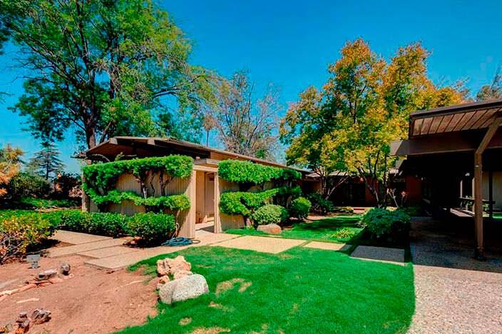 Дом Мерил Стрип в Пасадене, окрестности Лос-Анджелеса