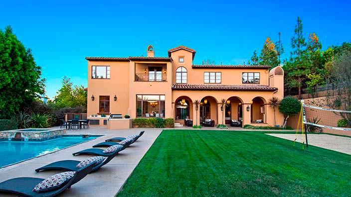 Дом Слэша в Лос-Анджелесе
