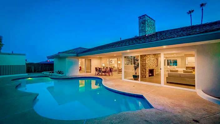 Дом с бассейном Айка и Тины Тёрнер в Лос-Анджелесе