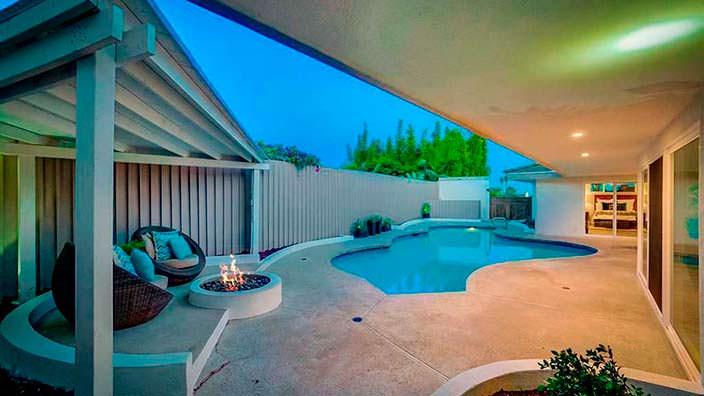 Дом с бассейном в Лос-Анджелесе Тины Тёрнер