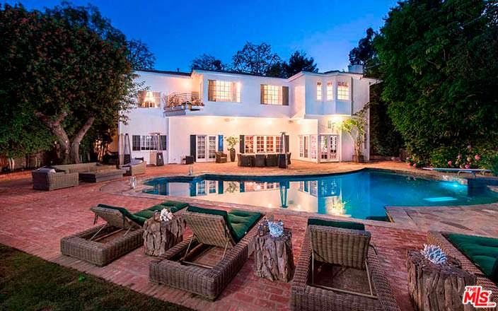 Дом с бассейном и спа в Бель-Эйр