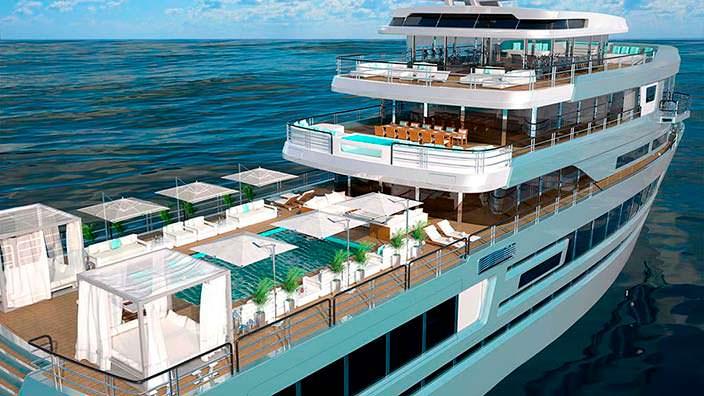 Экспедиционное судно Mystique от Gill Schmid Design