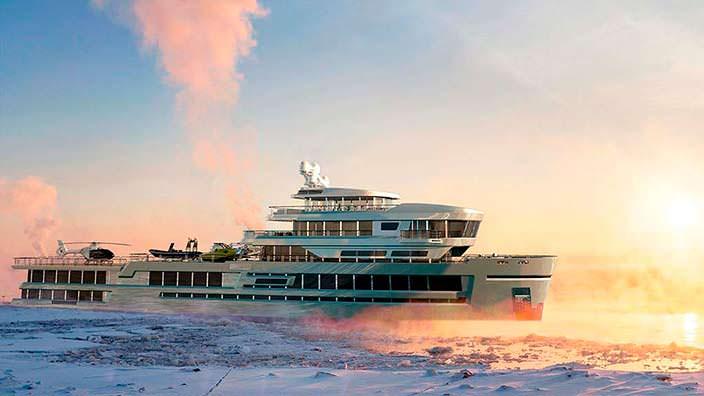 Исследовательское судно Mystique от Gill Schmid Design
