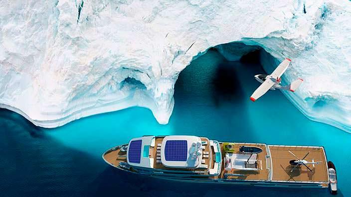 Исследовательская яхта Mystique от Gill Schmid Design