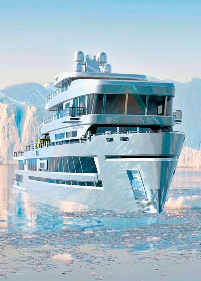 Экспедиционная яхта Mystique от Gill Schmid Design