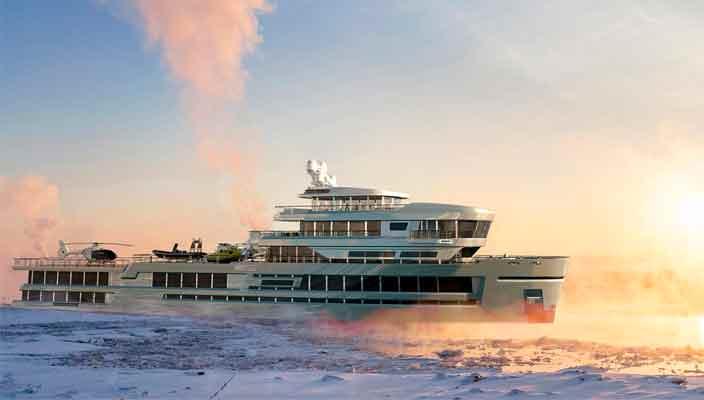 Gill Schmid Design показал 75-метровое экспедиционное судно