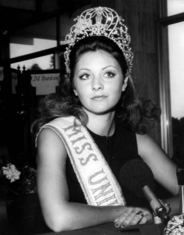 Георгина Риск - Мисс Ливан 1970