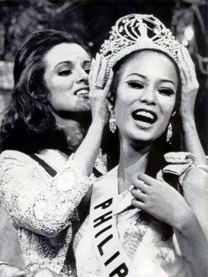 Глория Мария Диас - 18-я Мисс Вселенная