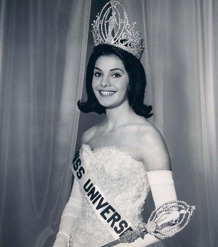 Йеда Мария Варгас - первая Мисс Вселенная из Бразилии