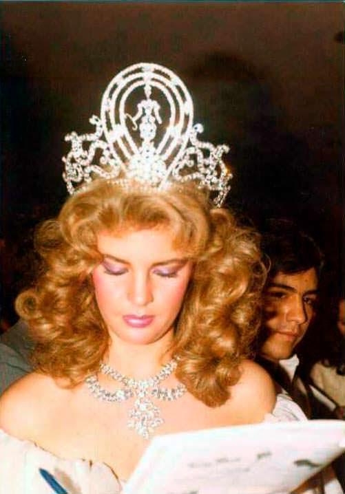 Ирене Саэс - победительница конкурса «Мисс Вселенная 1981»