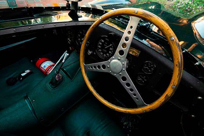 Двухместный салон Jaguar D-Type 1954 года выпуска
