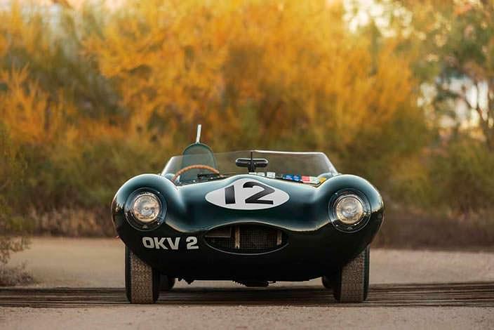 Гоночный Jaguar D-Type 1954 года за $12 млн