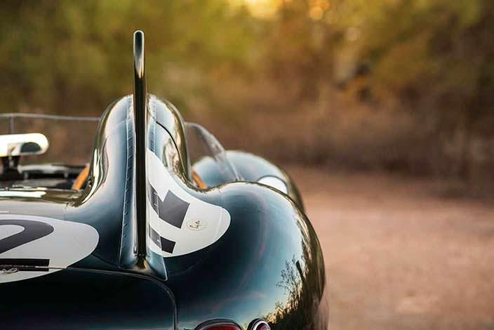 Аэродинамическое крыло Jaguar D-Type 1954 года