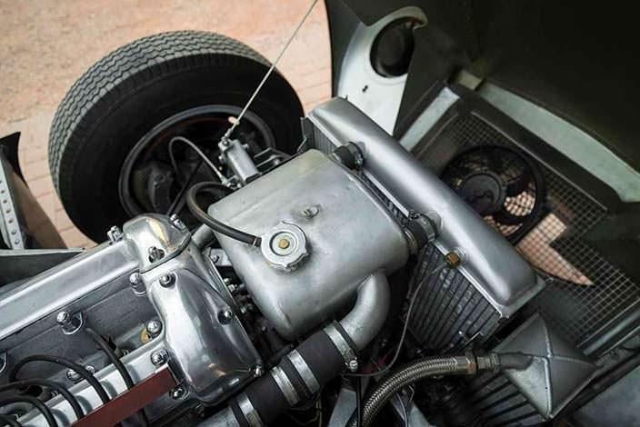 Под капотом Jaguar D-Type 1954 года