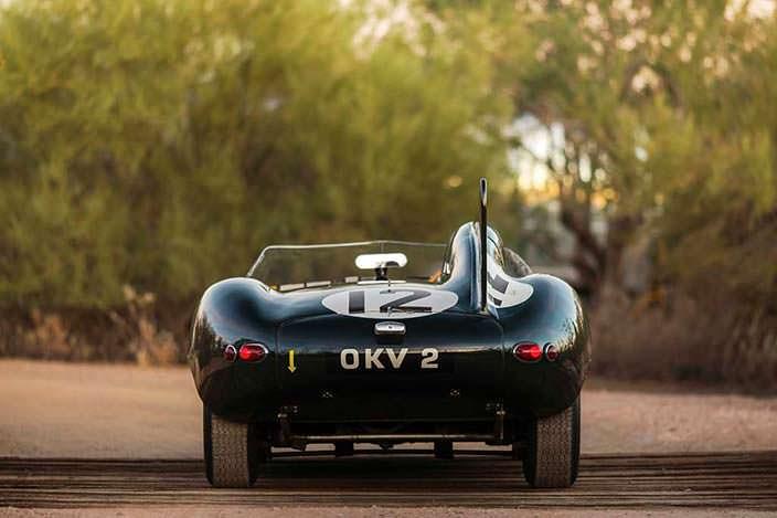 Jaguar D-Type 1954 года