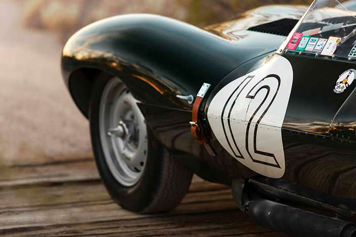 Оригинальные колёса Jaguar D-Type 1954 года выпуска