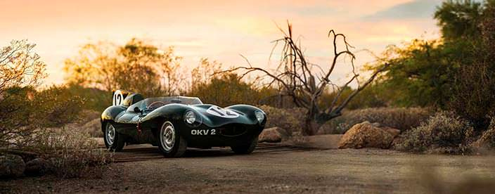 Коллекционный Jaguar D-Type 1954 года выпуска