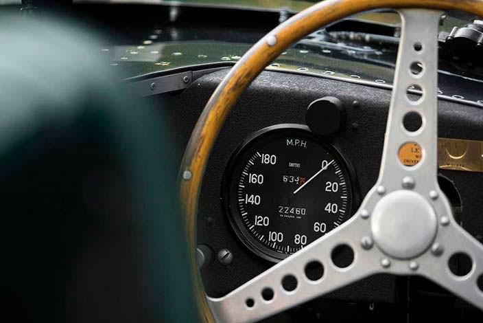 Оригинальный пробег Jaguar D-Type 1954 года выпуска